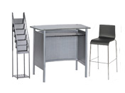 1 x MALO gris / 1 x ERQUY noir / 1 x VENDEE : ensemble de mobiliers en location