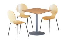3 x AUBIN bois / 1 x BATZ bois : ensemble de mobiliers en location