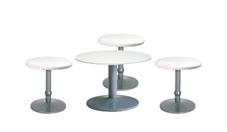 3 x CONCHE blanc / 1 x NOIRMOUTIER blanc : ensemble de mobiliers en location