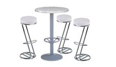 3 x FREHEL blanc / 1 x MIQUELON : ensemble de mobiliers en location