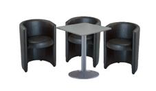 3 x PAIMPOL / 1 x BATZ gris : ensemble de mobiliers en location