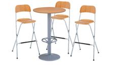 3 x SIZUN bois / 1 x JERSEY bois : ensemble de mobiliers en location