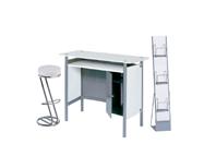 1 x HERBLAIN blanc / 1 x FREHEL blanc / 1 x MAINE blanc : ensemble de mobiliers en location