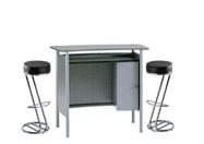 1 x HERBLAIN gris / 2 x FREHEL noir : ensemble de mobiliers en location