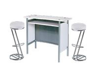 1 x MALO blanc / 2 x FREHEL blanc : ensemble de mobiliers en location