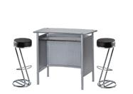 1 x MALO gris / 2 x FREHEL noir : ensemble de mobiliers en location
