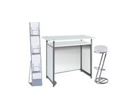 1 x POL blanc / 1 x FREHEL blanc / 1 x MAINE blanc : ensemble de mobiliers en location