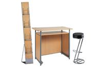 1 x POL bois / 1 x FREHEL noir / 1 x MAUGE bois : ensemble de mobiliers en location