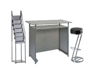 1 x POL gris / 1 x FREHEL noir / 1 x VENDEE : ensemble de mobiliers en location
