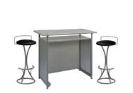 1 x POL gris / 2 x PENHIR noir : ensemble de mobiliers en location