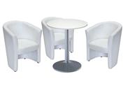 3 x CORNOUAILLE / 1 x CHAUSEY blanc : ensemble de mobiliers en location