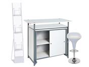 1 x BILE blanc / 1 x MAINE blanc / 1 x PHILIBERT blanc : ensemble de mobiliers en location