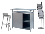 1 x KERDONIS gris / 1 x VENDEE gris / 1 x PHILIBERT gris : ensemble de mobiliers en location