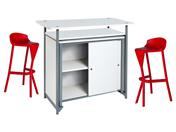 2 x KERDONIS rouge / 1 x PHILIBERT blanc : ensemble de mobiliers en location