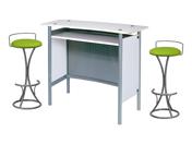 2 x PENHIR vert / 1 x MALO blanc : ensemble de mobiliers en location