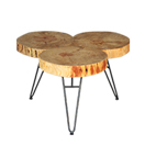 BOIS TABLE BASSE : table basse en location