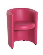 Location de fauteuil rouge pour stand exposition foire - Location mobilier salon professionnel ...