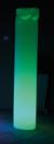 LUM COLONNE plissée : éclairage en location