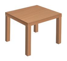 Location de mobilier : location table basse MADAME