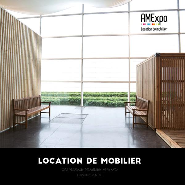 Télécharger le catalogue de mobilier en location AMEXPO SUD OUEST
